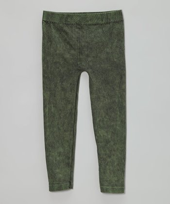 Jade Distressed Jeggings