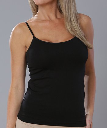 Black Seamless Camisole - Women