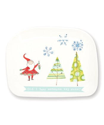 Mod Christmas Cookie Platter