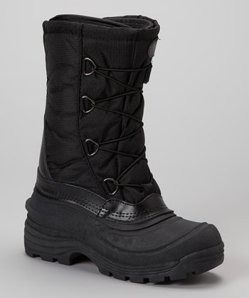 Black Tundra Boot - Women