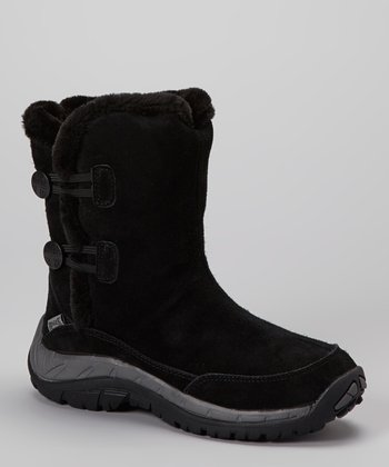 Black Petrel Boot- Women