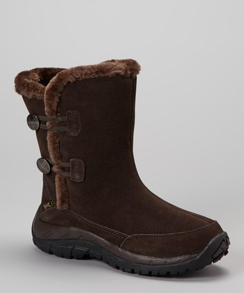Brown Petrel Boot - Women