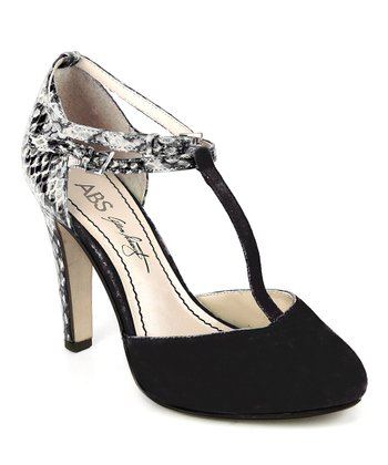 Black and White Deco Pump