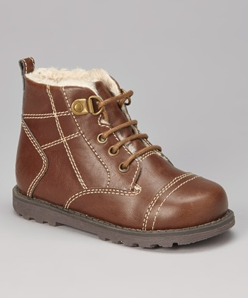 Brown Stitch Boot