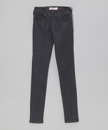 Dark Denim Pencil Leg Jeans
