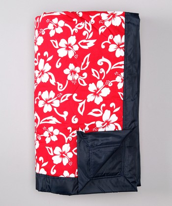 Red Hawaii Outdoor Blanket