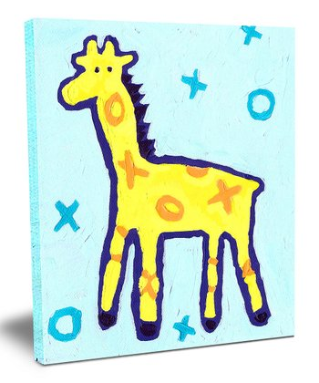 X & O Giraffe Wall Art