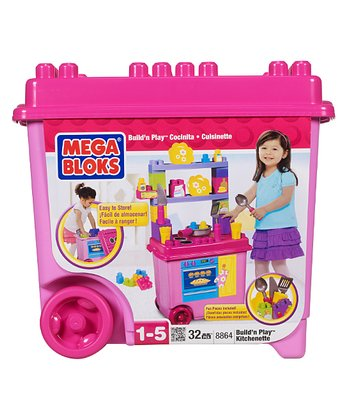 Build 'n' Play Kitchenette Mega Blok Set
