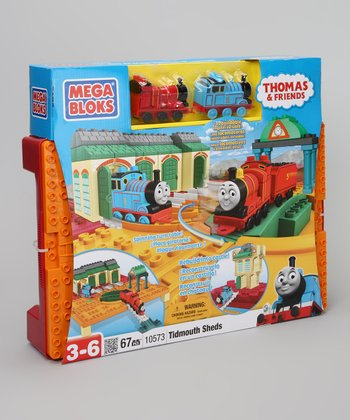 Tidmouth Shed Thomas & Friends Mega Blok Set