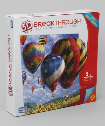 Balloons 3-D Breakthrough Puzzle Set