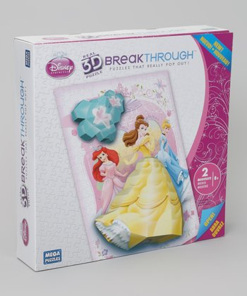 Princess 3-D Breakthrough Puzzle Set