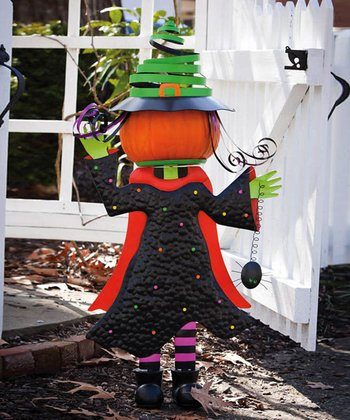 Wicked Witch Pumpkin Stand