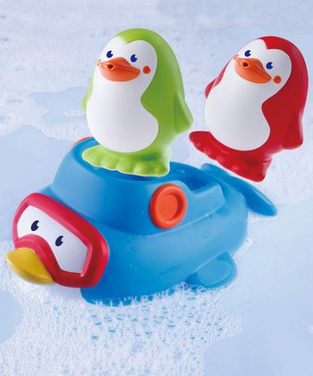 Squirt 'n' Sail Penguins Bath Toy Set