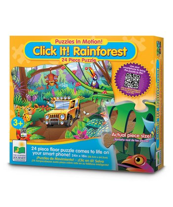 Rainforest Click It! Puzzle Set