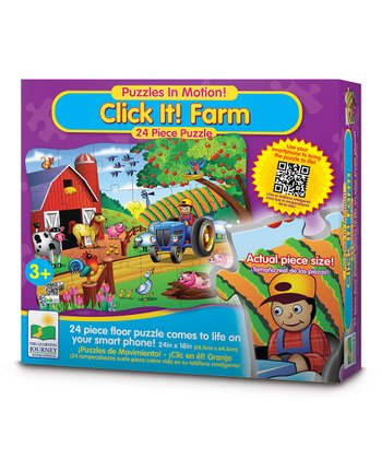 Farm Click It! Puzzle Set