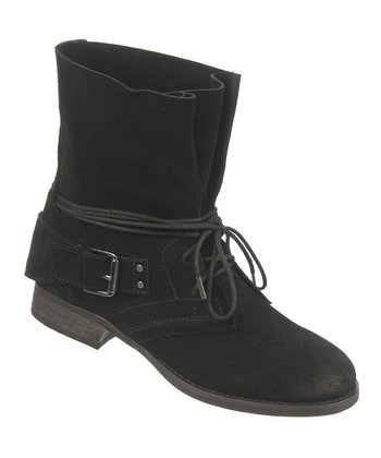 Black Suede Vicksburg Boot