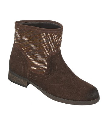 Dark Brown Suede Alton Boot