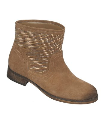 Taupe Suede Alton Boot