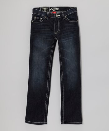 Dark Wash Boyle Straight-Leg Jeans - Boys