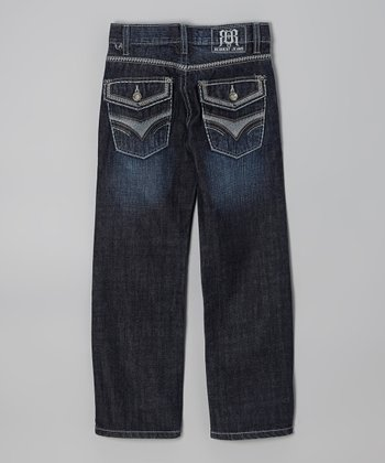 Dark Wash Ryan Straight-Leg Jeans - Boys