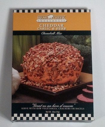 Cheddar, Garlic & Herb Cheese Ball Mix - Set of Three