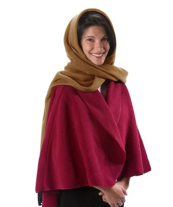 Caramel Hooded Scarf