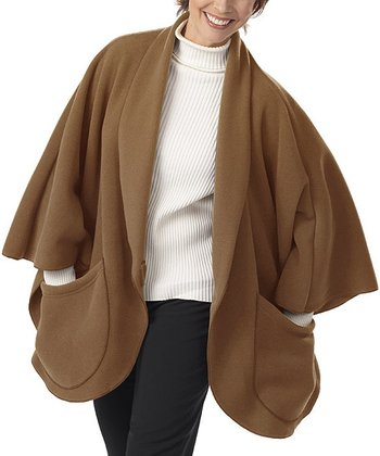 Caramel Pocket Cape