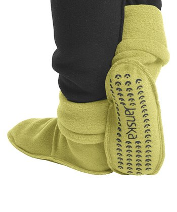 Kiwi Green MocSock Booties