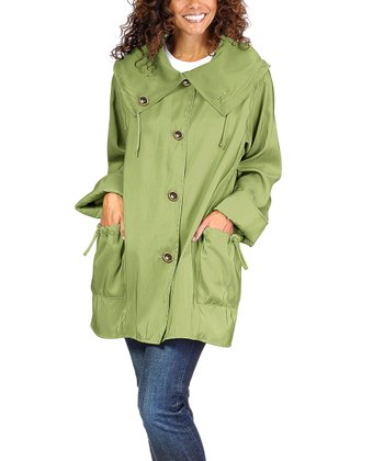 Leaf Green Cassie Jacket