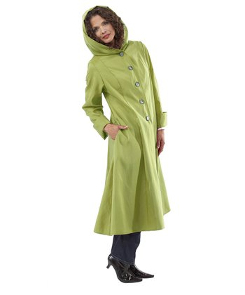 Leaf Green Siren Coat