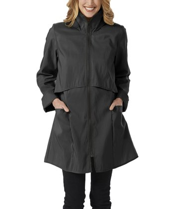 Jet Black Tacoma Raincoat