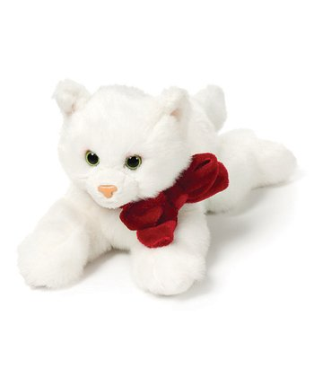 White Cat Plush Toy
