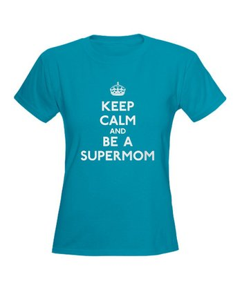 Caribbean Blue 'Keep Calm' Tee