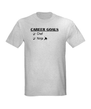 Ash Gray 'Career Goals' Tee