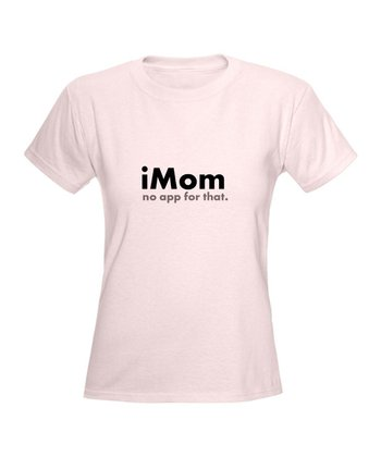 Light Pink 'iMom' Tee
