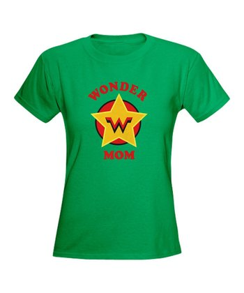 Kelly 'Wonder Mom' Superhero Tee