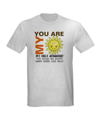 Ash Gray 'You Are My Sunshine' Tee