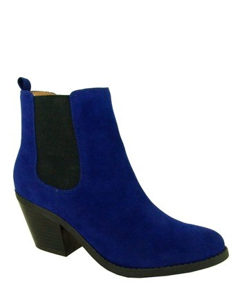 Blue Muse Stretch Ankle Boot