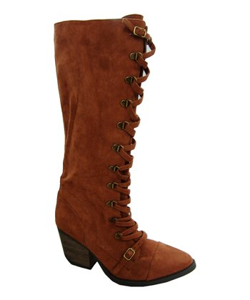 Rust Newton Lace-Up Boot