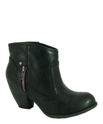 Black Priority Ankle Boot