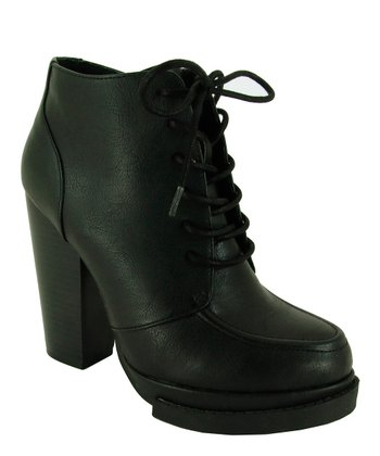 Black Ponder Ankle Boot