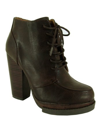 Brown Ponder Ankle Boot