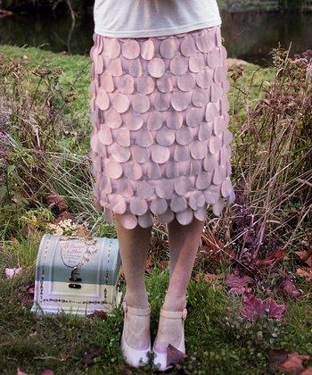 Pink Disc Curiouser Skirt