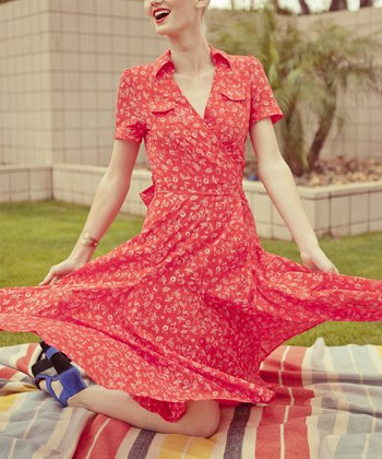 Red Heart of Me Dress