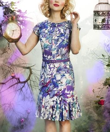 Blue Calooh! Callay! Dress