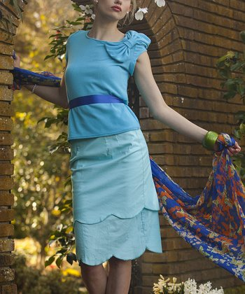 Blue Bluebell Skirt