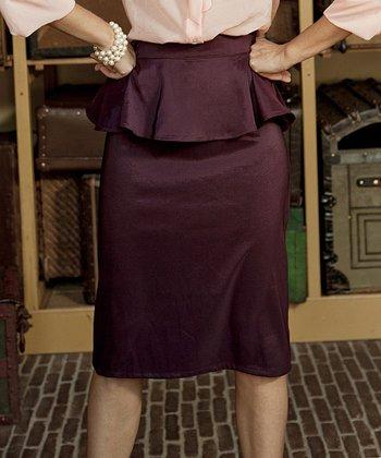 Purple First Stop Skirt