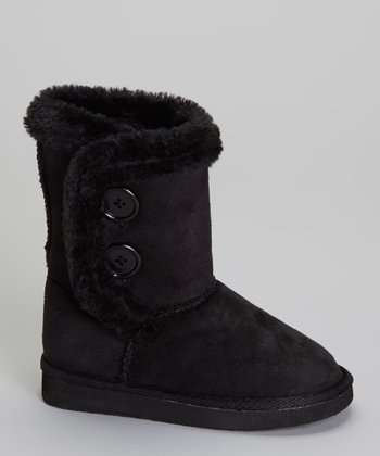 Black Button Lulu Boot
