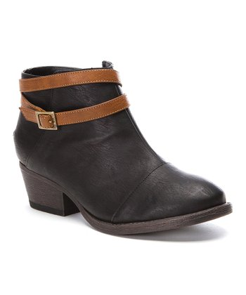 Black Soul Ankle Boot