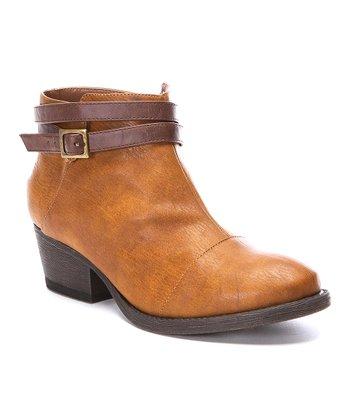 Cognac Soul Ankle Boot